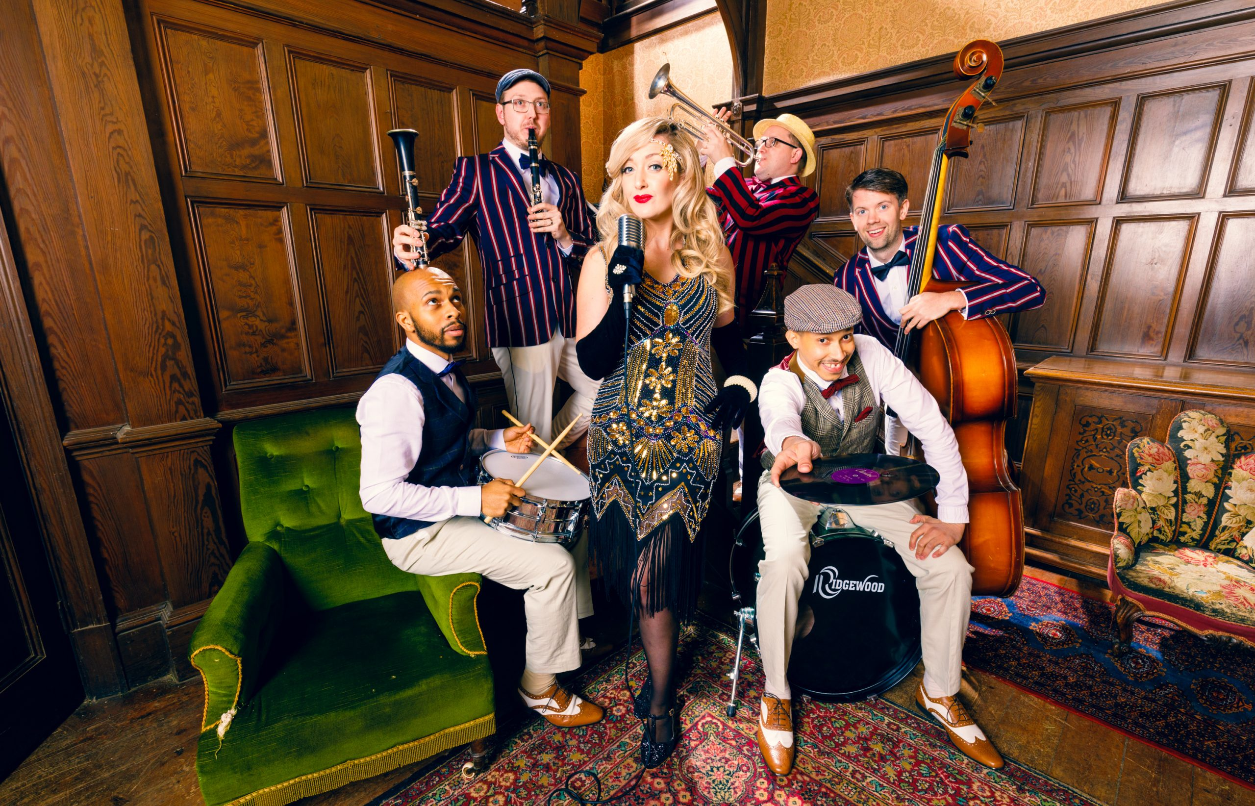 Vintage swing band for hire