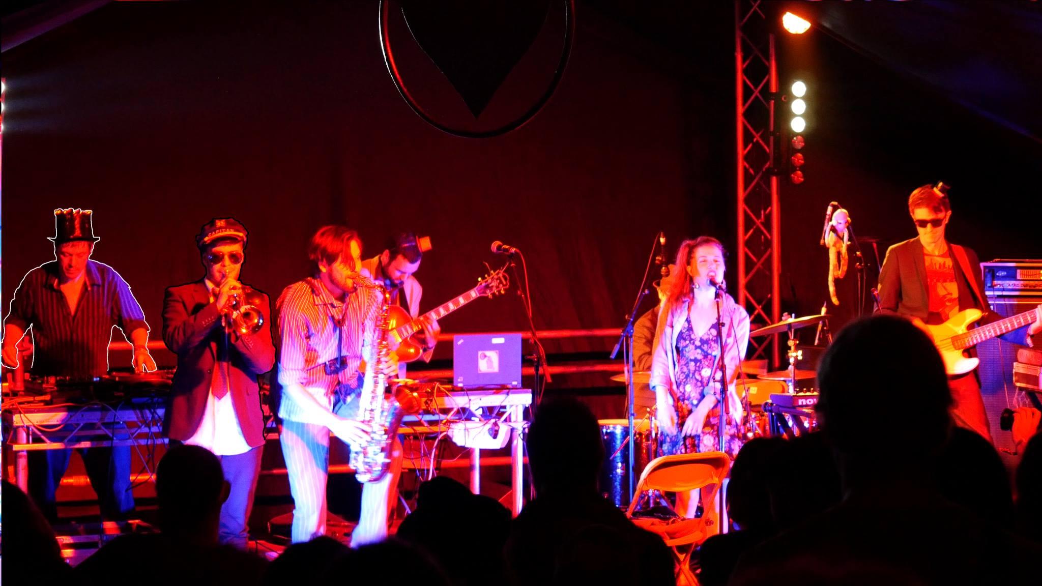 Electro swing band