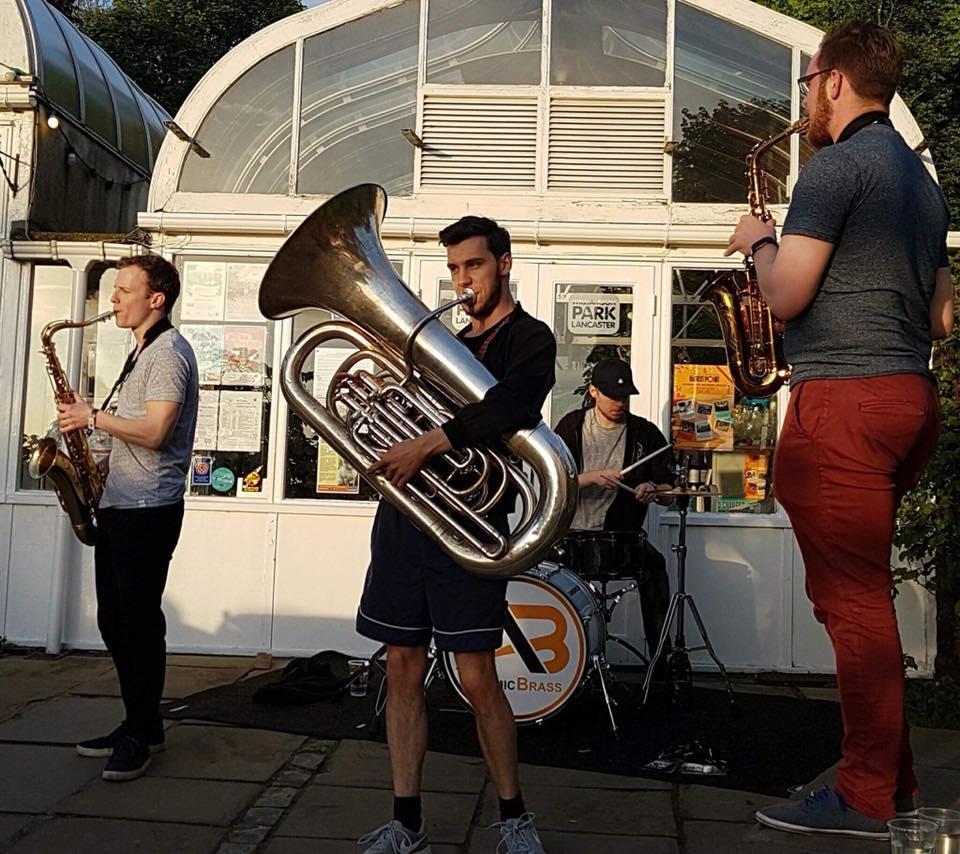 roaming brass band