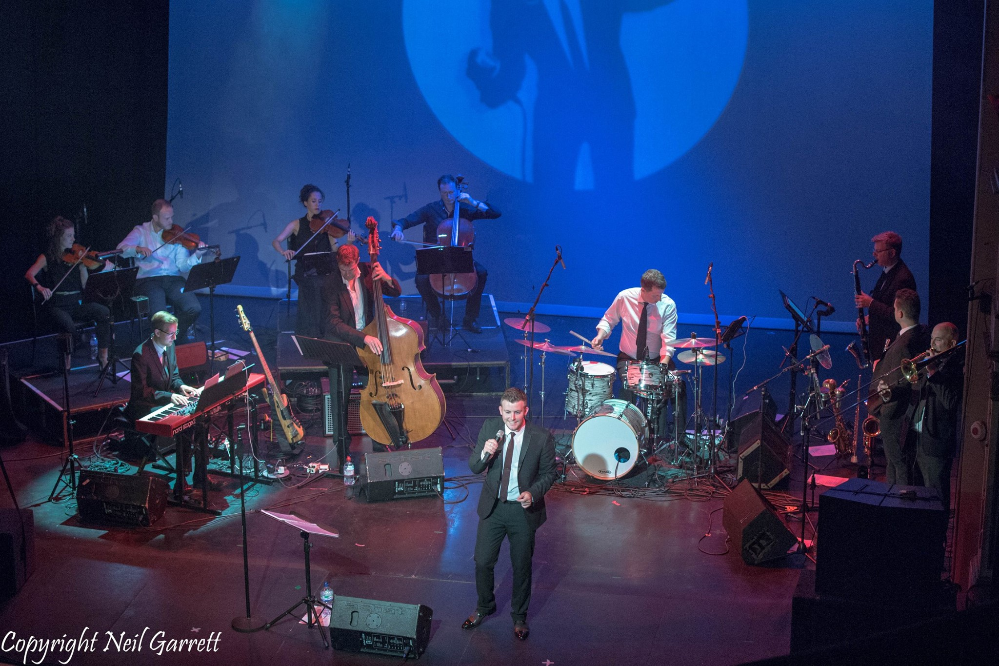 Hire a swing band