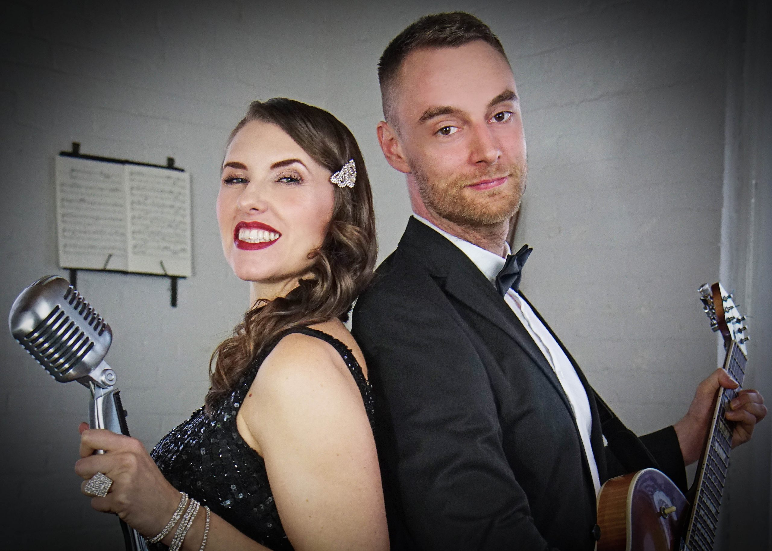 Gatsby duo for hire