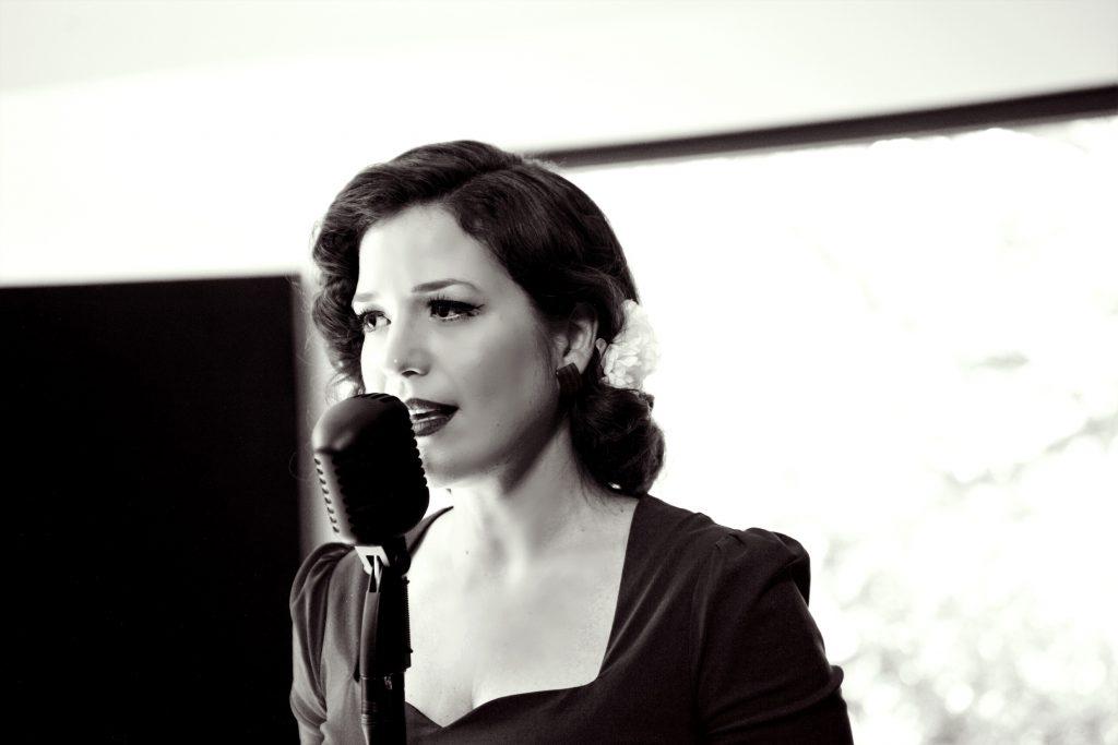 Vintage jazz singer
