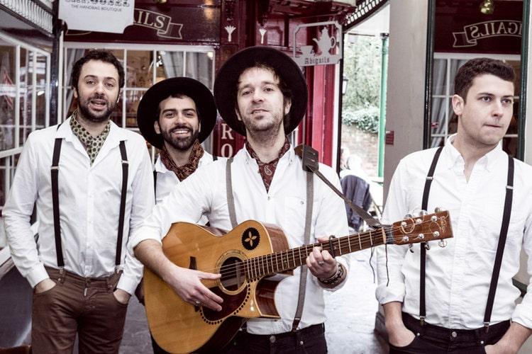 Folk wedding band London