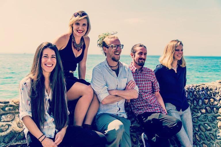 Folk pop band Brighton