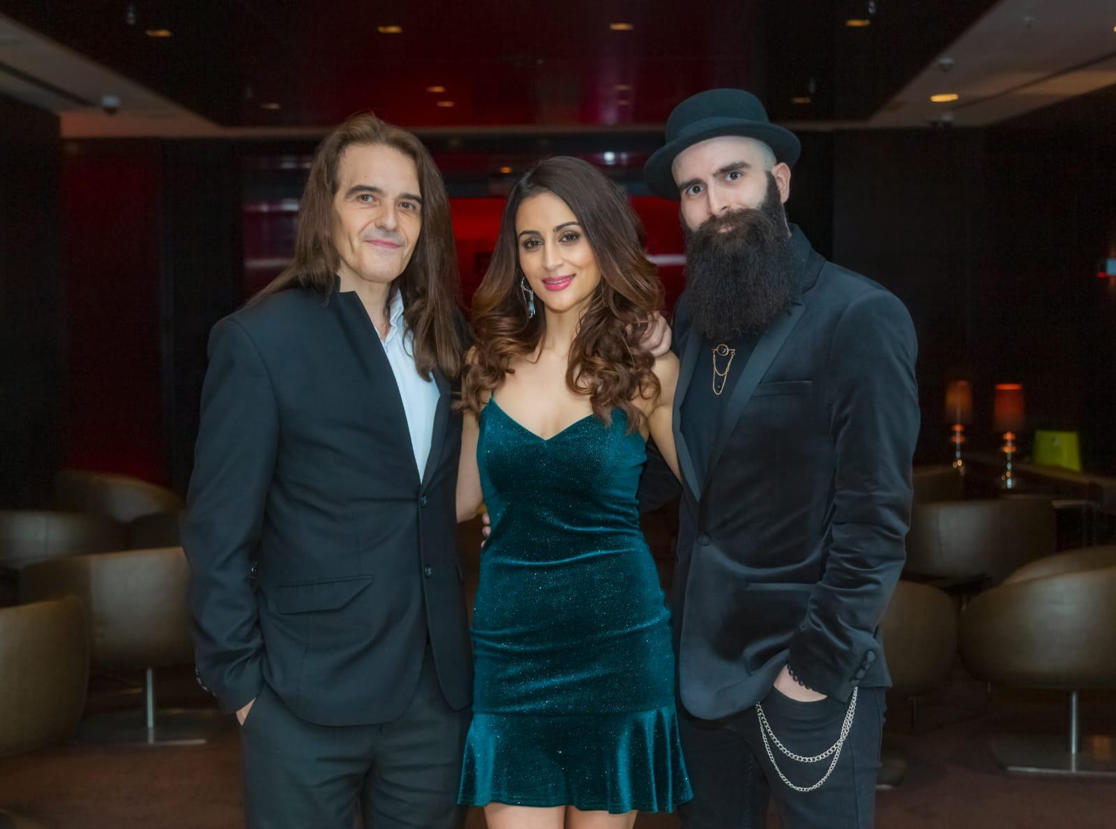 Pop and Bollywood trio