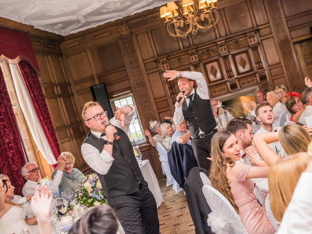 Singing Waiters for weddings