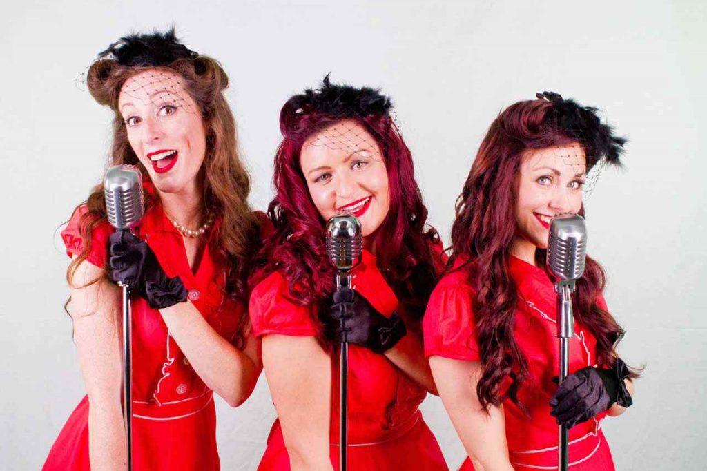 Hire a vintage harmony trio
