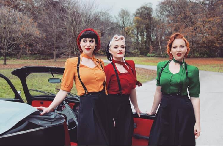 Female vintage harmony trio