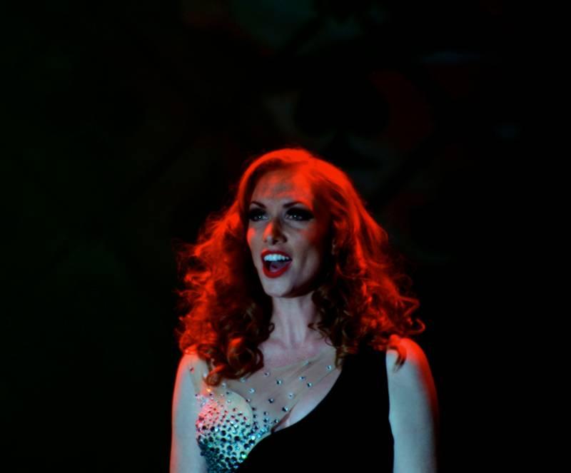 a jazz singer