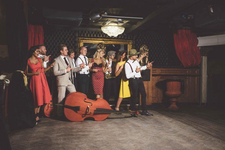Modern swing band